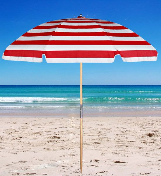 Outdoor Oxford Fabric Beach Portable Sun Umbrella Shelter Park Canopy Customized