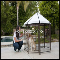 Removable Two Dogs Large Dog Run Kennels