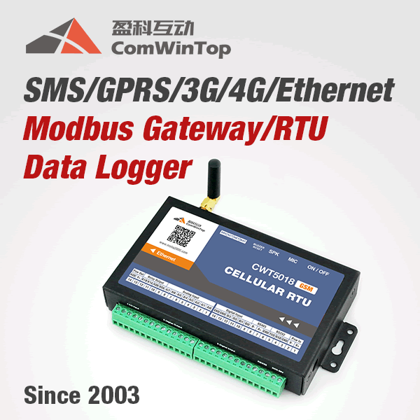 2017 hot Programmable Ethernet 3G 4G Sms Gsm Gprs Modbus IO Module