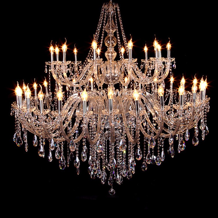 Baccarat Style Big Antique Glass Arms Crystal Ballroom Chandeliers Light - Baccarat Style Big Antique Glass Arms Crystal Ballroom Chandeliers