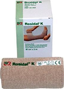 """Lohmann Rauscher Rosidal K Short Stretch Bandage 3-1/5"""" x 5-1/2"""" yds, Breathable, Latex-free (Box of 1 Each)"""
