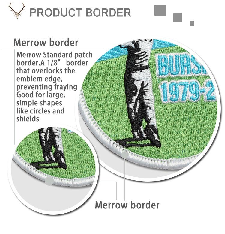 Direto feito sob medida bordados golf applique patch com alta qualidade entrega rápida