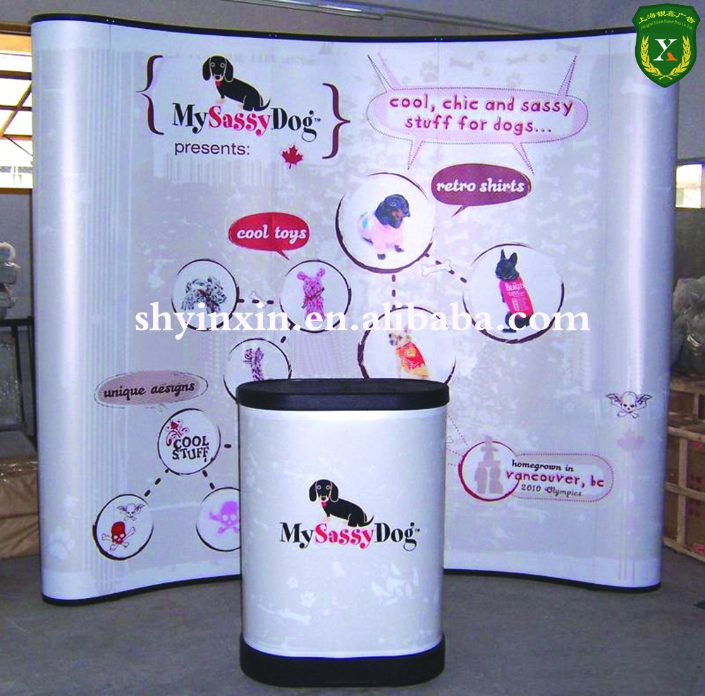 Mini Pop-up-Banner-Stand, bambus pop-up stehen banner