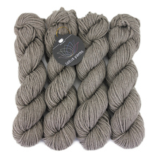 Lotus Caya Aran 50% Super Fine Merino 30% Yak 20% Cashmere Blended Yarn / Natural Undyed Hand Knitting, Weaving Cone Yarn