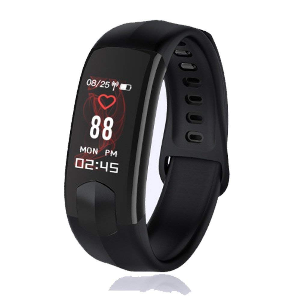Uhruolo Ip67 Waterproof Smarwatch Fitness Tracker With Heart Rate Monitor Watch Smart Band With Step Counter Pedometer Watch For Kids Women Men