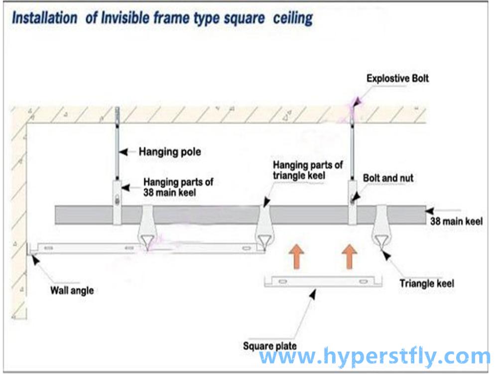 Light Gauge Steel Joist For Ceiling Tile Light Gage Steel