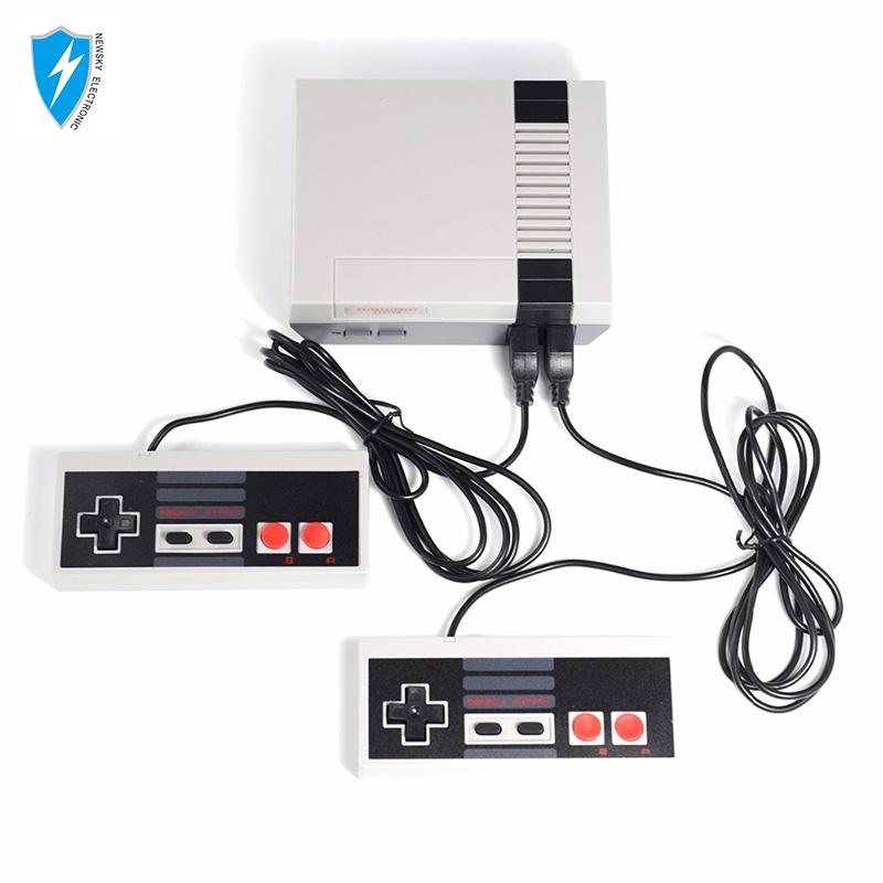 Family retro game console TV classic game player built in 620 games with AV cable