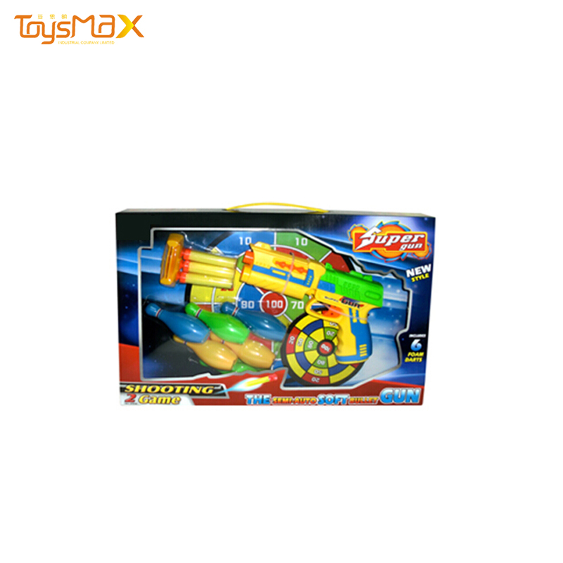 Hot Selling Air Soft Bullet Gun of Rolling Shooting Game with EVA Bullet