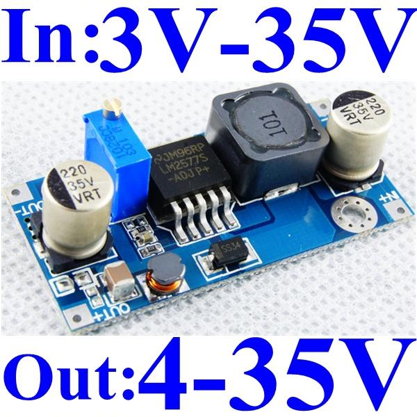 Dc Dc Boost Converter 5v 6v 9v 12v Step Up To 12v 24v 17v