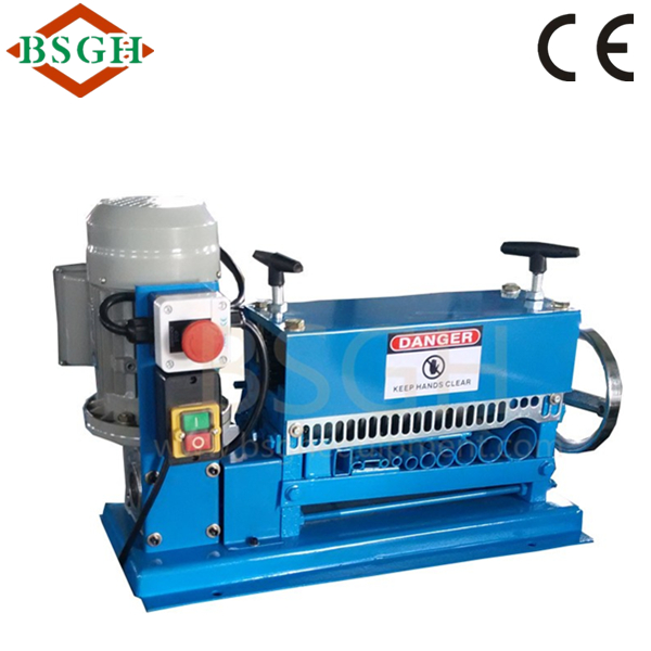 small recycling metal machine <strong>Scrap</strong> copper wire peeling machine Buyer in USA with CE