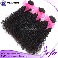 100 Percent Shedding Free Weave Peruvian Human Braiding Kinky Curly Hair Packs