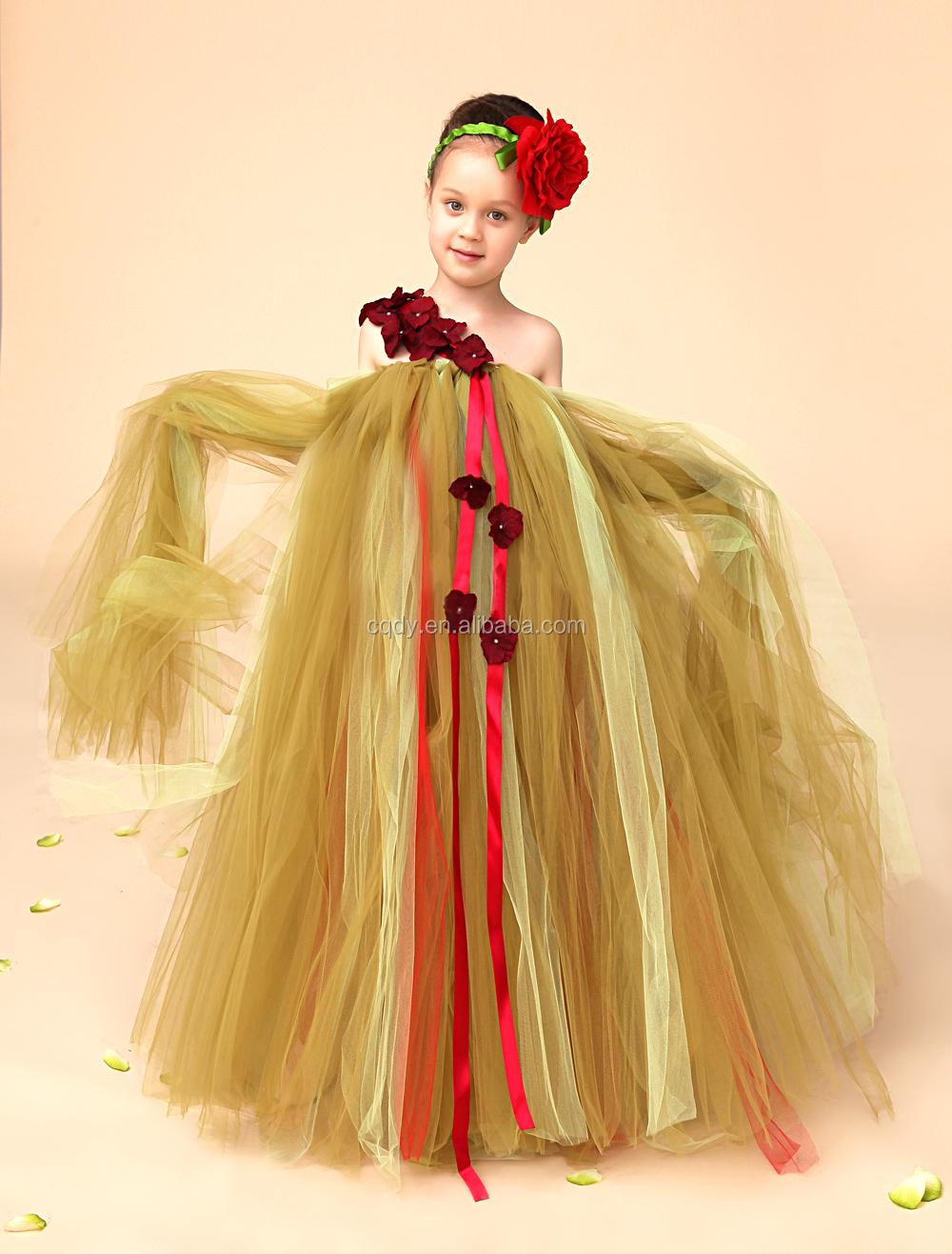 2016 Neue Koreanische Modell Kleid Kinder Hochzeitskleid/mädchen ...