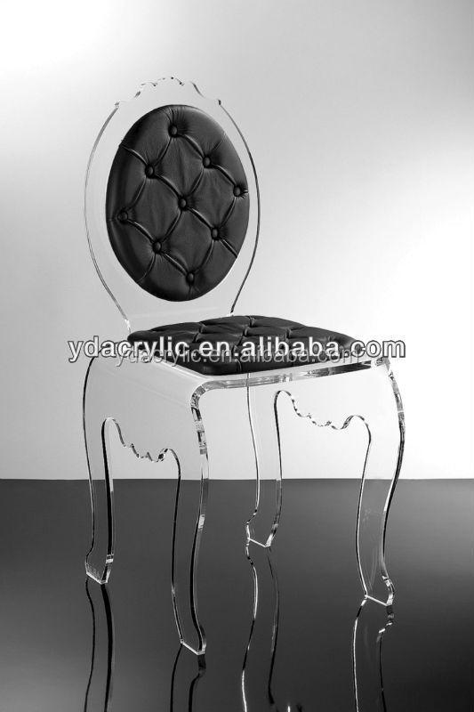 Factory Price Transparent Plexiglass Dining Chair Modern Cheap ...