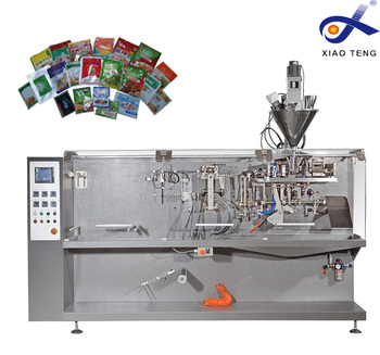 Automatic 5kg bean plastic bag filling and sealing machine with bag making