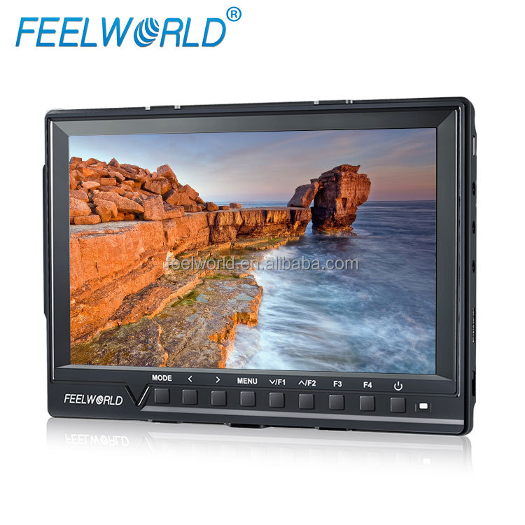 FEELWORLD AV HDMI Input 1080p DSLR Full HD 7 inch LCD Screen Monitor with peaking and histogram functions
