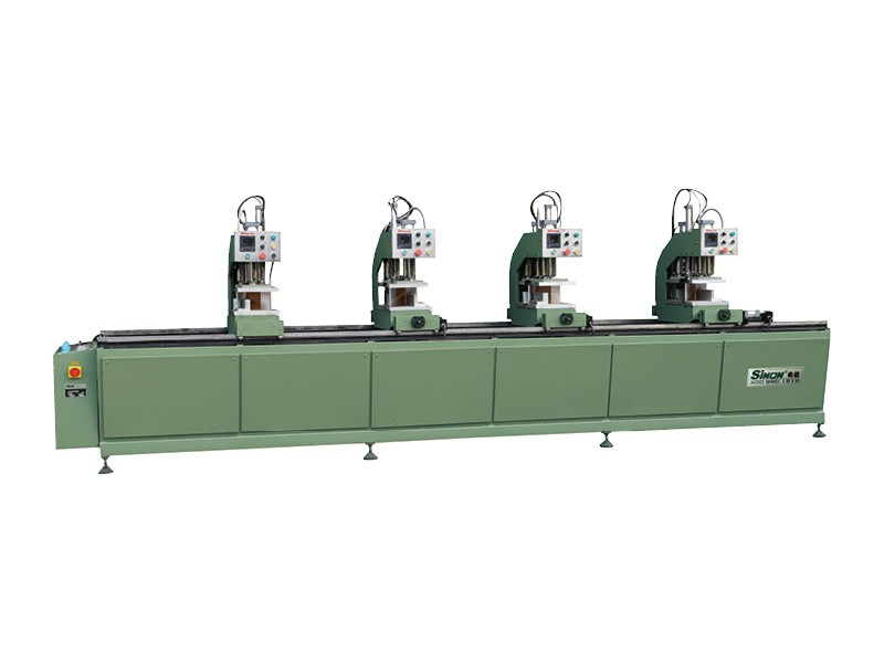 PVC win-door four head welding machine window making machine
