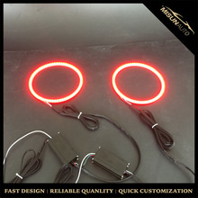 New Auto car accessories LED lights full circle 5050smd angel eyes turn signal ring for BMW