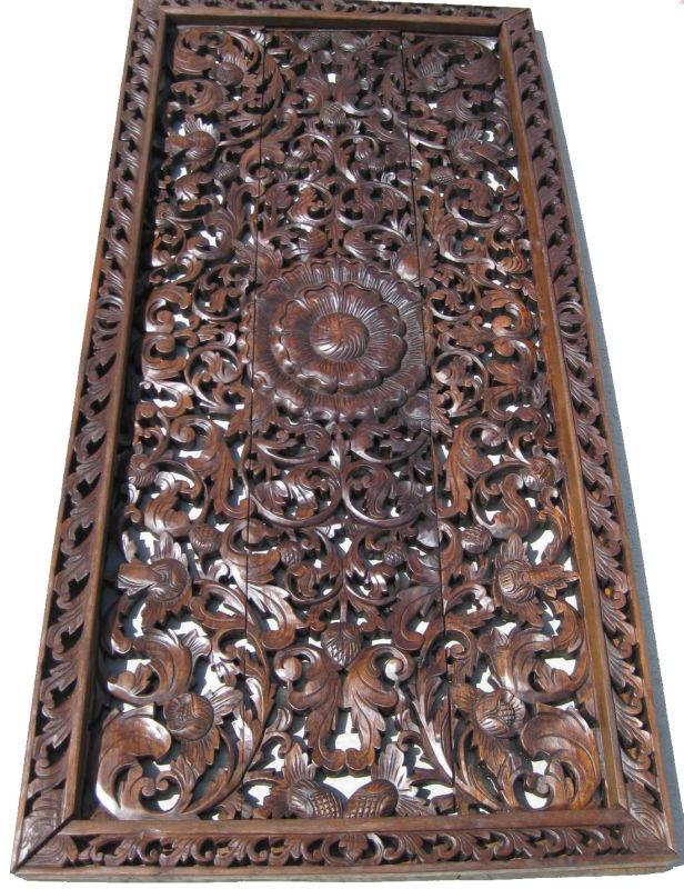 panneaux muraux en bois sculpt arts collection id de produit 600001151154. Black Bedroom Furniture Sets. Home Design Ideas