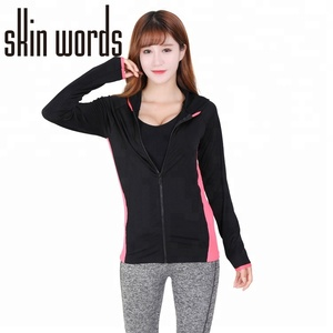 Dingao brand casual women clothes sports wear running jacket