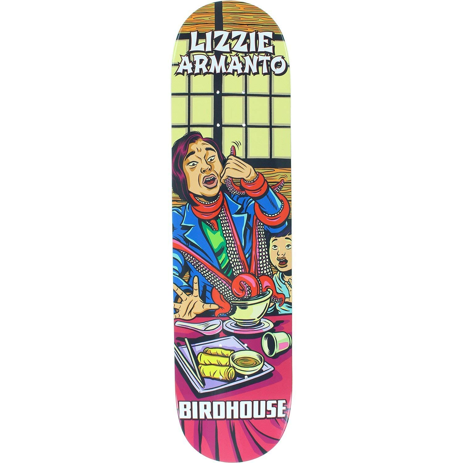 Birdhouse Armanto Mexipulp Deck -7.75 Assembled as Complete Skateboard