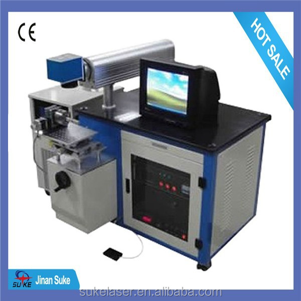 China factory price impulsed fiber laser marking machine for all the fonts in windows