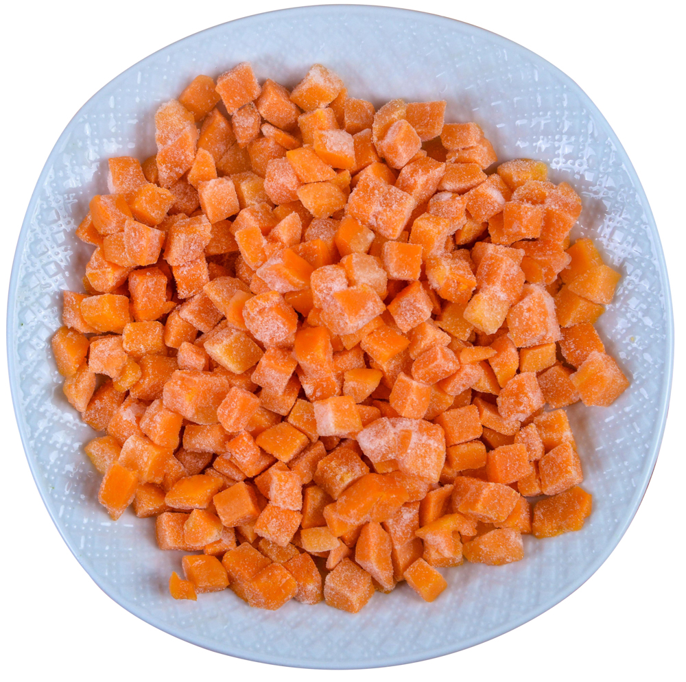 2019 new fresh delicious vegetable IQF frozen carrot sliced