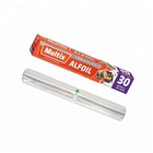 Soft roll Restaurant use perforated kitchen aluminium foil for marmitex