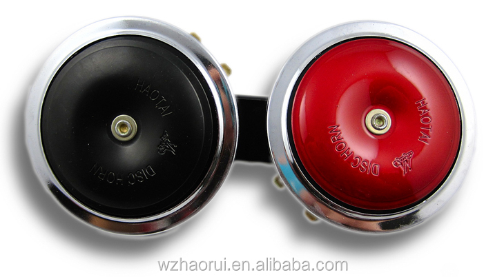 Auto speaker horn High Quality disc Electric Car Horn/ Electrical car horn12V motorcycle horn .HR-3118