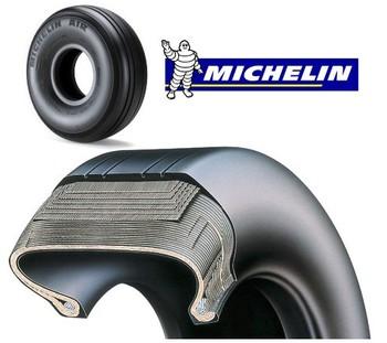 Aircraft Michelin Tire 008-369-0