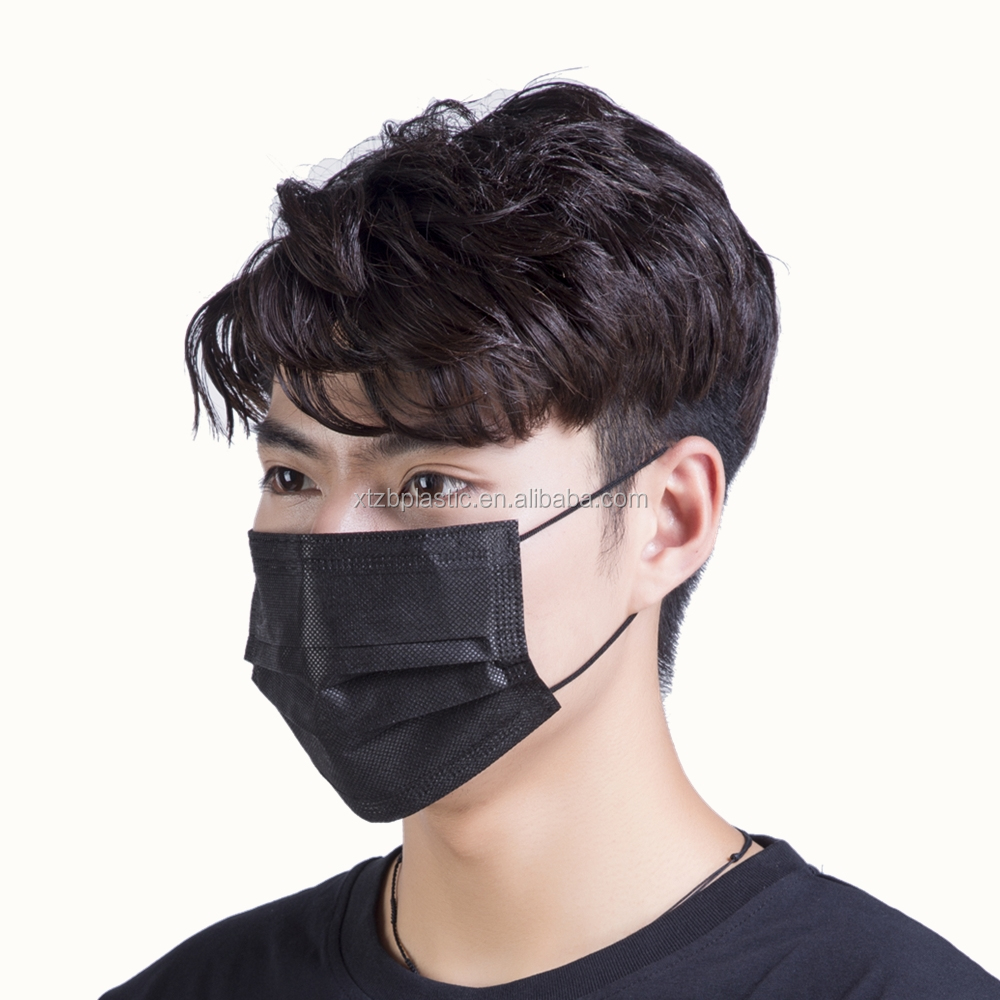 Mask Details View Products From Black Zhongbao Disposable Colored Protective Product Funny Hubei Surgical