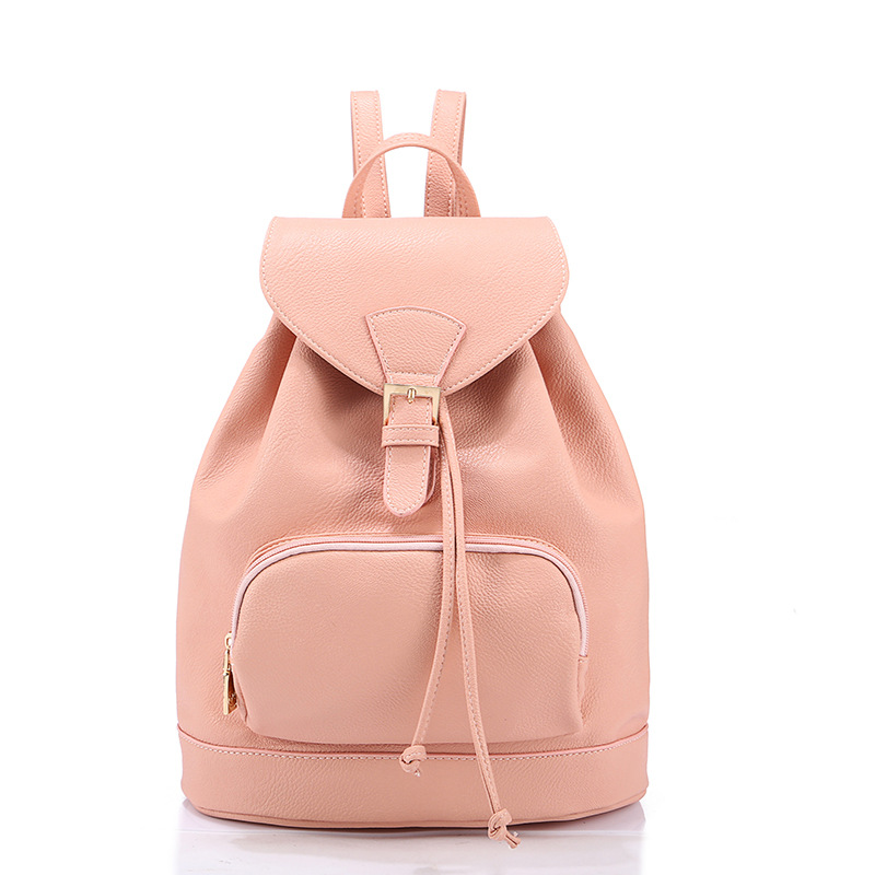 Buy 2015 New fashion backpacks for teenage girls korean cute big school book  bags female leather rucksack women preppy backpacks in Cheap Price on ... 1e7a917117a09