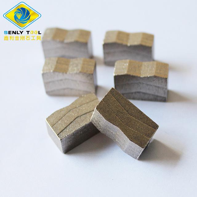 มืออาชีพหินแกรนิตตัดส่วนส่วนเพชรสำหรับหินแกรนิต