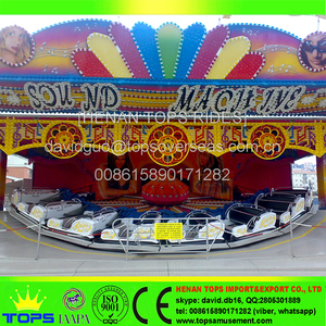 Fairground Thrill Ride Theme Park Eden Luna Game Himalaya Rides