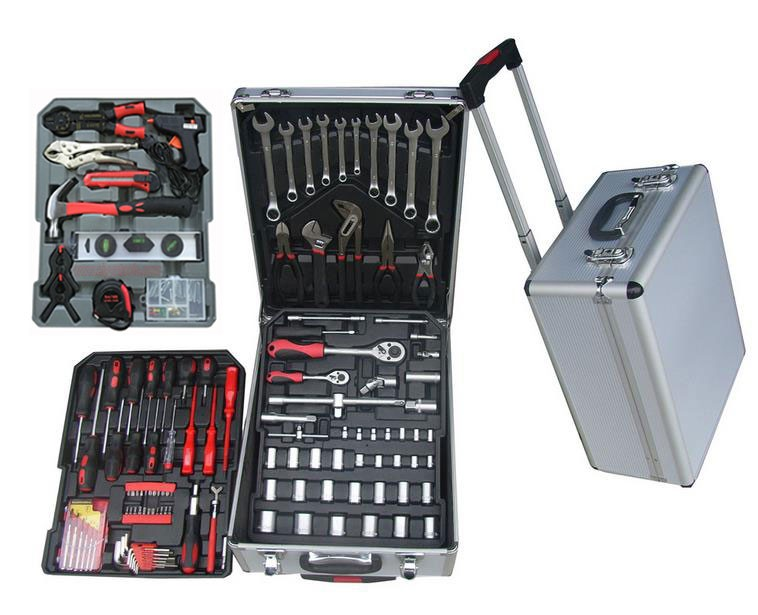 186pcs Tools <strong>set</strong> in Aluminum Case Tool <strong>Set</strong> mechanical tools <strong>set</strong>