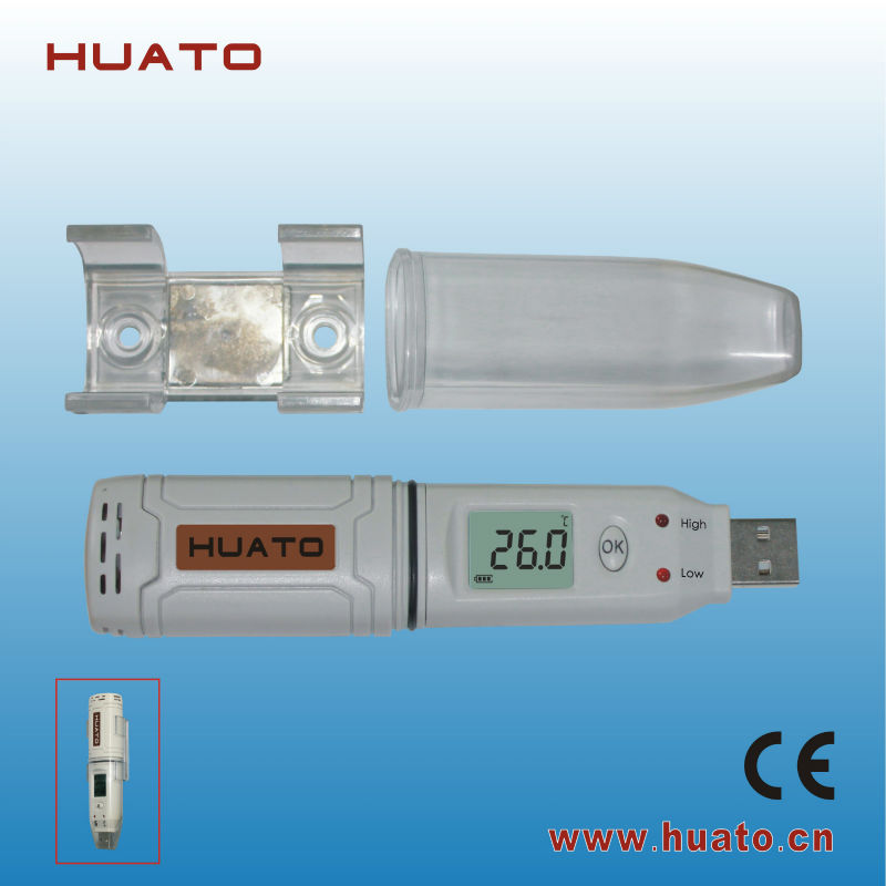 USB temperature data logger high accuracy