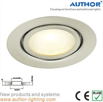 Recess Mounted Halogen Downlight Under Cabinet Light Kitchen Hood ...