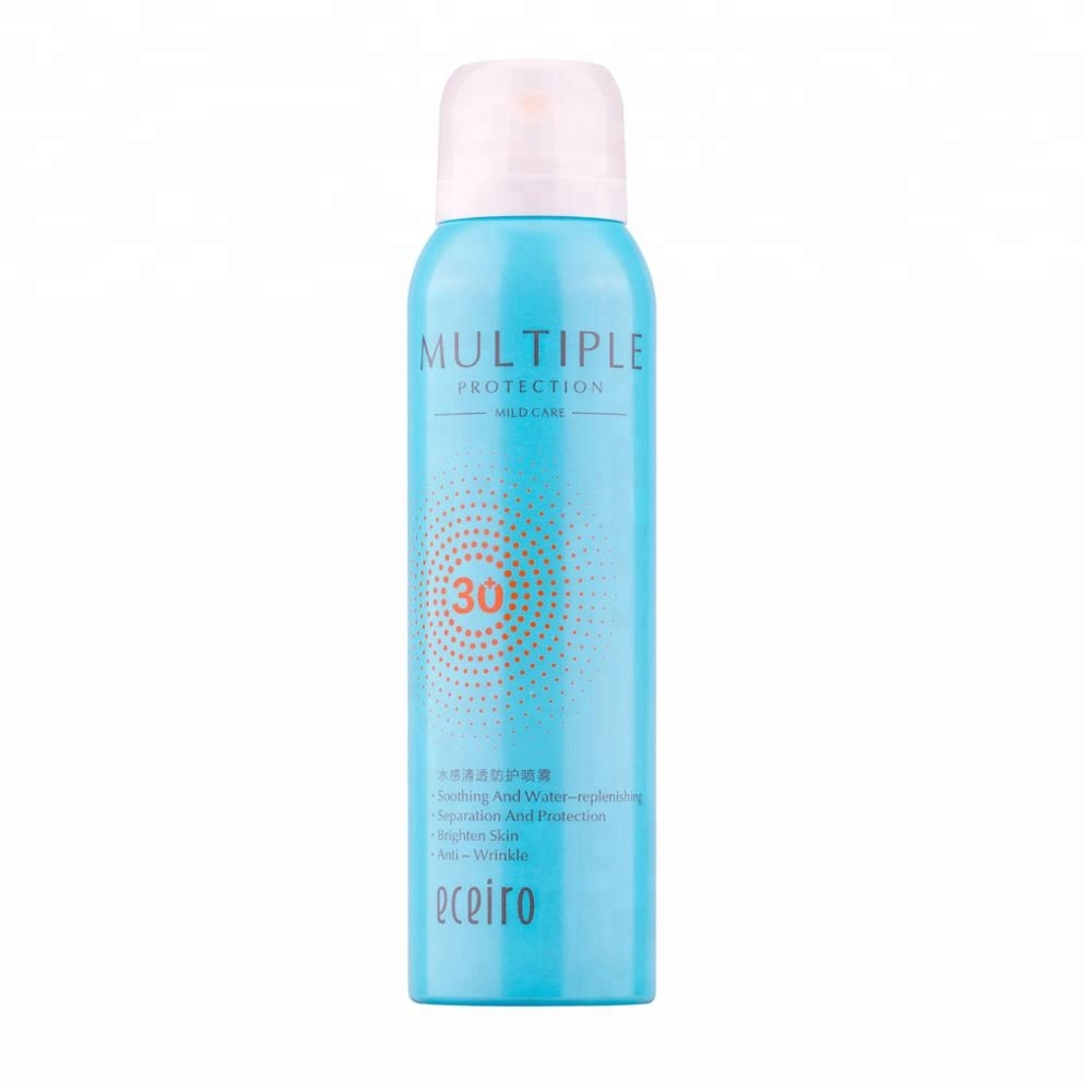 Watery Clear Protective Whitening <strong>Sunscreen</strong> For Face And Body Spray Resistant With spf30