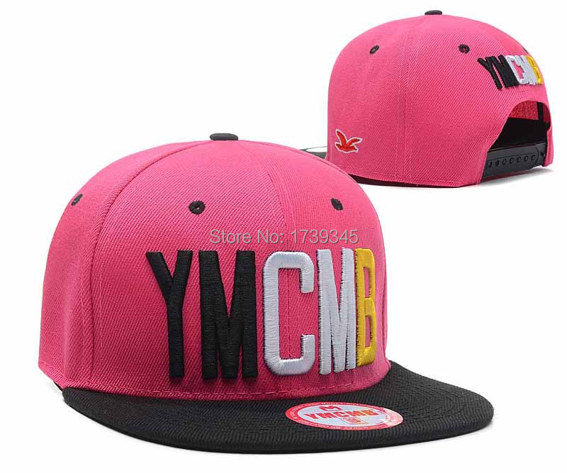 4c3e81b70d3 Get Quotations · 20 Styles New Arrival YMCMB Snapback hats most popular  mens   women adjustable gorras bones sanguo