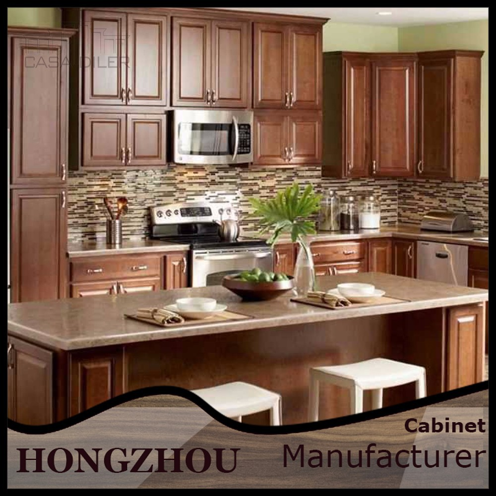 Alta calidad al por mayor de madera de caoba gabinetes de for Cocinas quality
