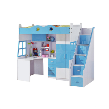 Hot Selling Kids Bunk Bed With Study Desk Buy Kids Bunk Beds
