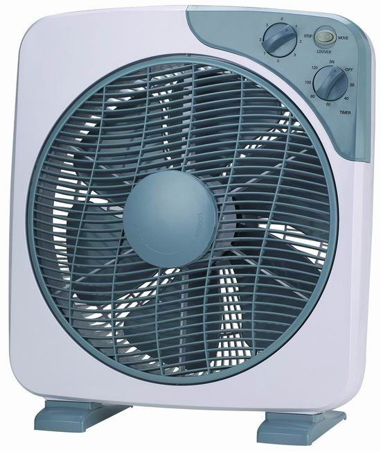 Small Box Fan : New model inch quot square box fan with timer buy