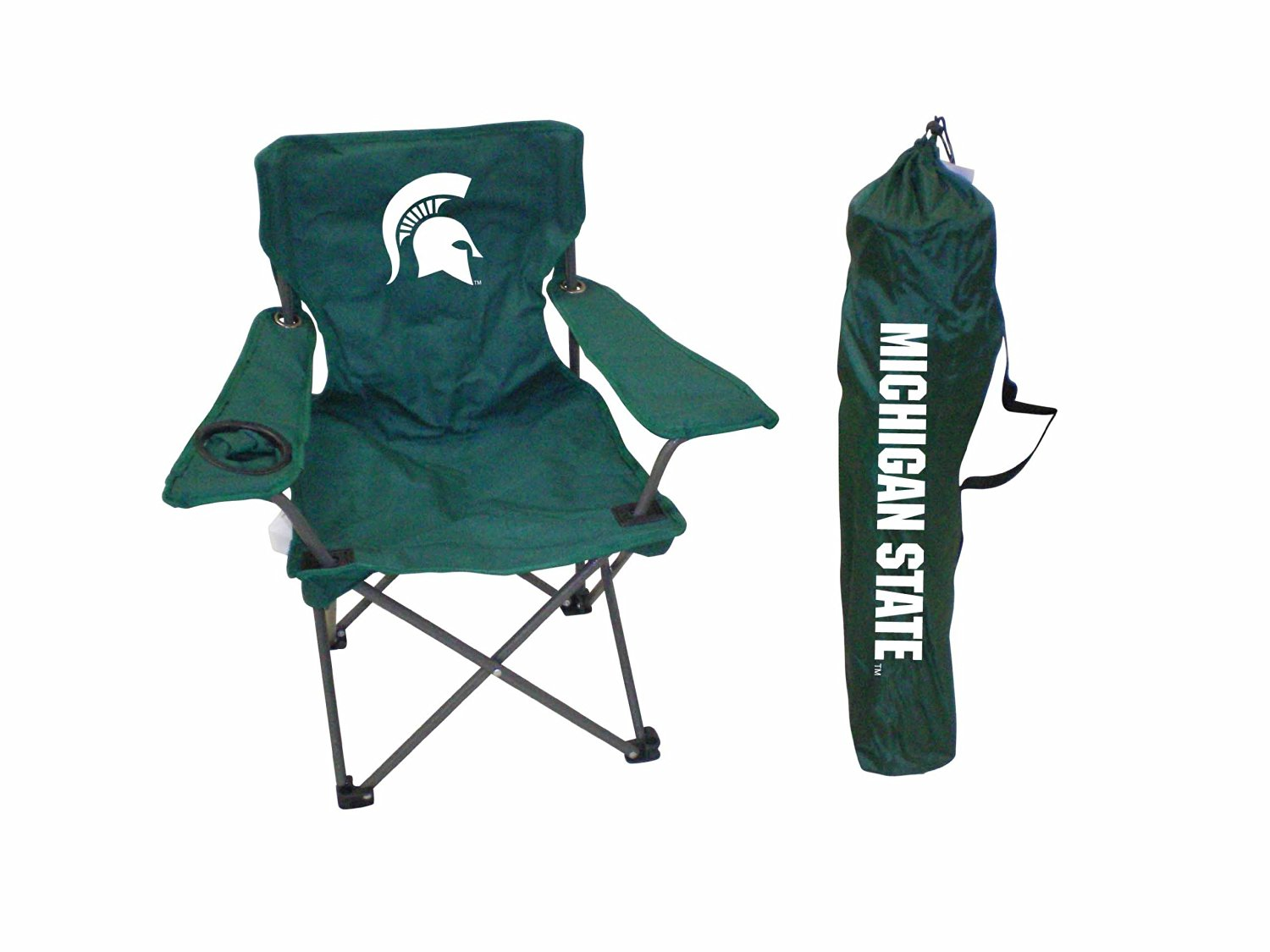 Rivalry NCAA Michigan State Spartans Youth Folding Chair With Carrying Case