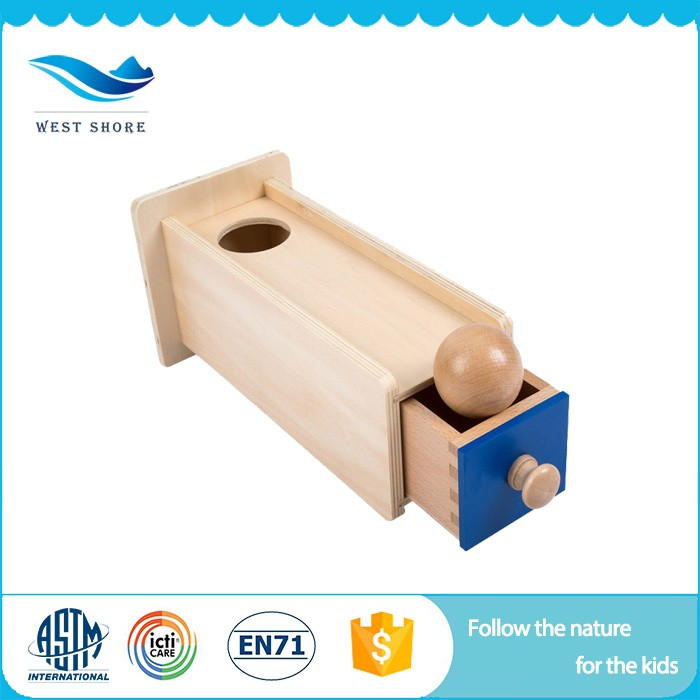 Wholesale infant and toddler toddler montessori wooden toys for children
