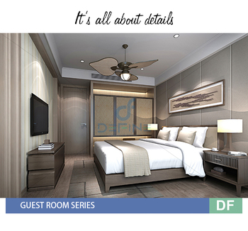 5 Five Star Luxury Hotel Bedroom Furniture Set DF 119
