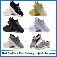 Fashion Yeezy men Shoes casual Sports Boots