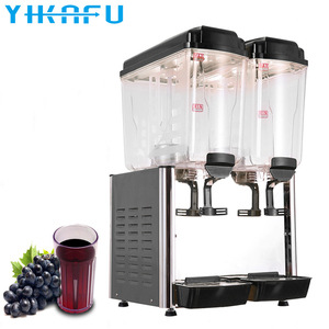 China manufacturer 2 heads commercial cold drink/beverage dispenser
