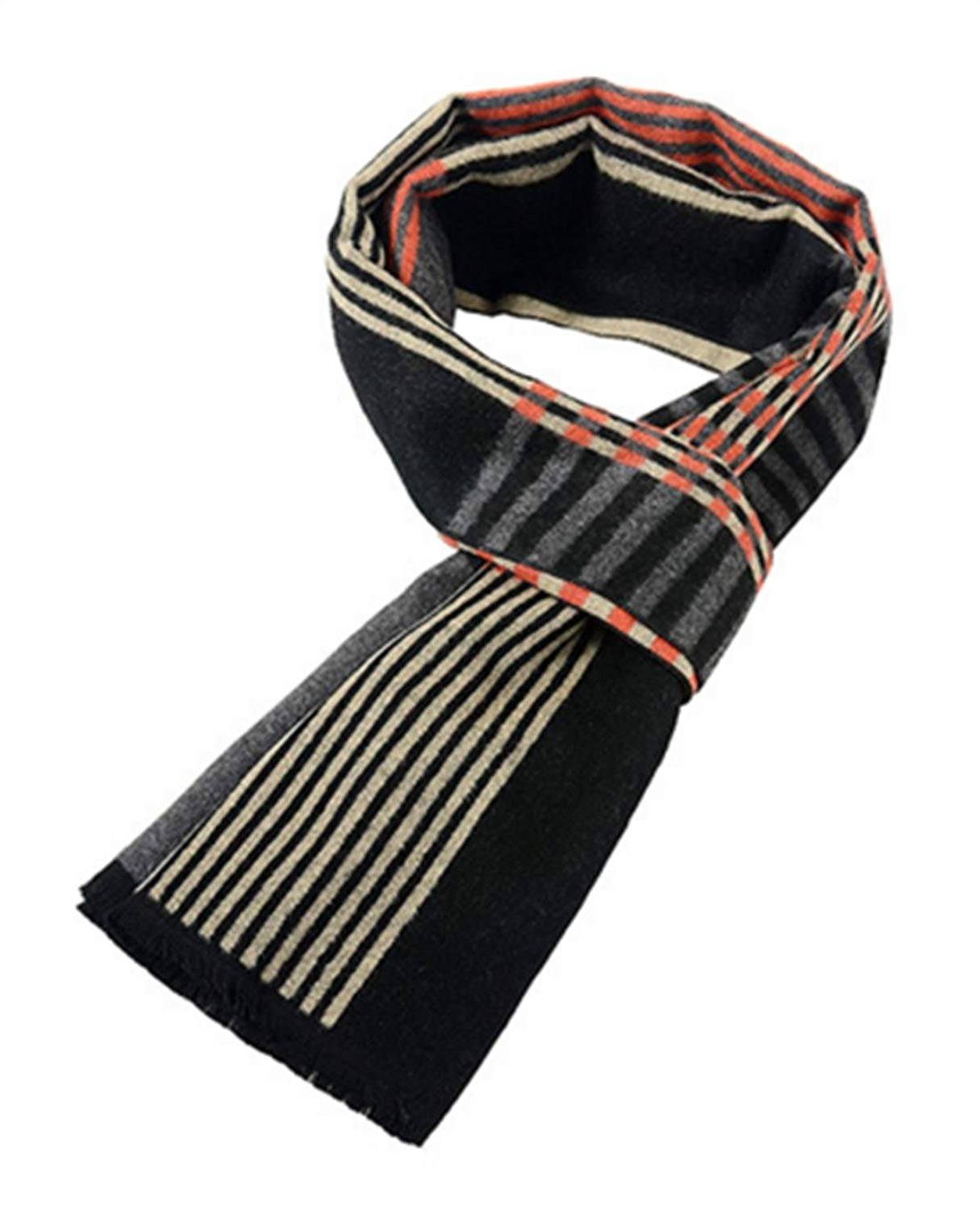 New autumn and winter men 's scarf imitation silk brushed warm scarf fashion winter scarf scarf scarf , 180cm