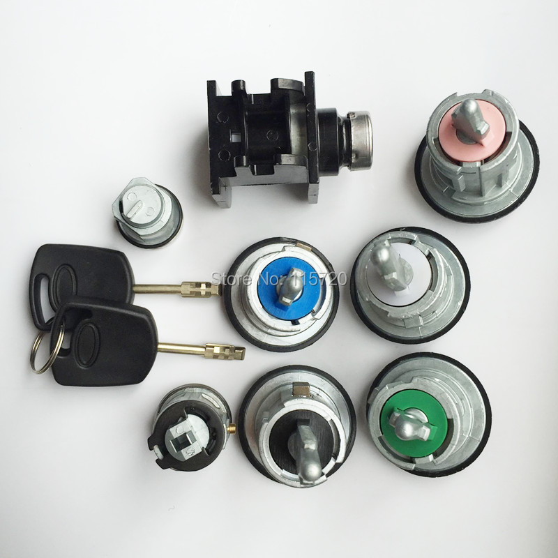 Autoshoppingcenter DOOR KEY Ignition Bonnet LOCK SET for TRANSIT MK7 2006-2011 2.4 2.3 2.2 4874508