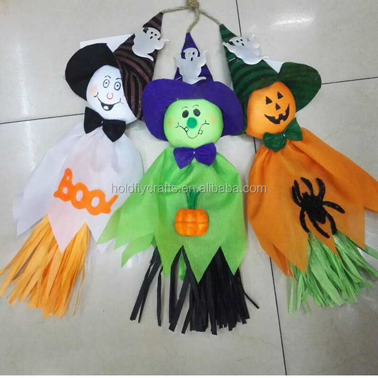 Halloween HANGING GHOST Haunted Spooks Party Decoration Indoor Outdoor 36cm