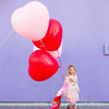 hot sell 36inch heart shape latex balloon giant latex heart balloon for wedding